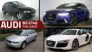 Semana Audi nos Classificados GT40: todos os modelos da marca anunciam de graça até terça-feira que vem