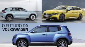 Confira os 17 novos modelos que a Volkswagen irá lançar no Brasil e no mundo até 2020