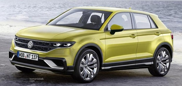 Volkswagen-T-Cross-SUV-Render