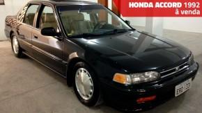 Este Honda Accord EX 1992 está conservadíssimo e à venda