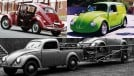 Pick-up, perua, quatro portas: as variações de carroceria do Fusca que não existiram oficialmente