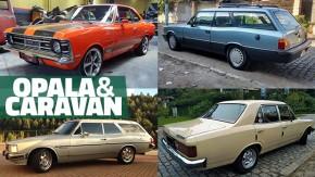 Chevrolet Opala e Caravan: os mais legais anunciados no GT40