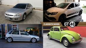 Um Honda Accord com motor K20, dois hot hatches brasileiros, um Fusquinha bem original e mais no GT40