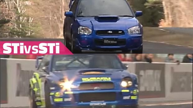Impreza WRX STi 2003: quanto que o carro de rali é mais rápido que o carro de rua?