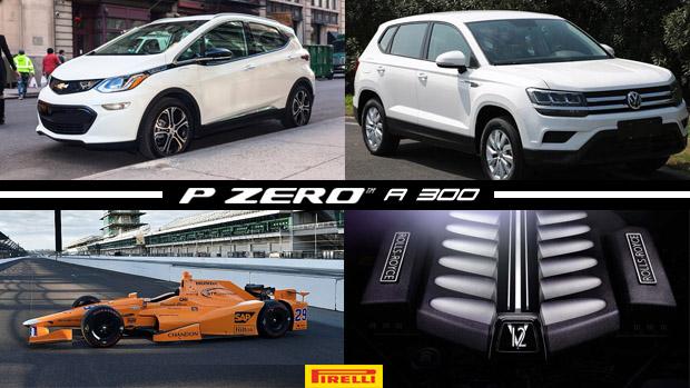 Chevrolet terá 30 lançamentos em quatro anos no Brasil, McLaren mais próxima da Indy, Volkswagen revela rival do Compass e mais!