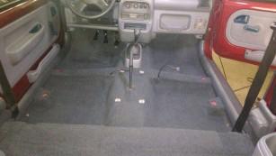 075 - Carpete lavado e colocado