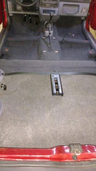 076 - Carpete lavado e colocado
