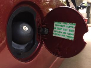 119 - Bocal de tanque também é almo muito frágil