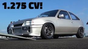 1.275 cv, 3,1 bar no turbo e tração nas quatro rodas… em um Kadett!