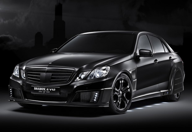 2010 Brabus E V12 Black Baron; top car design rating and specifications