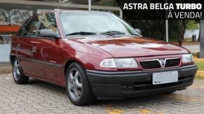 """Este Astra """"belga"""" conservadíssimo com motor 2.0 turbo está à venda"""