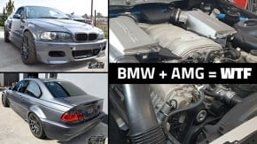 Um BMW Série 3 com motor V8 AMG feito para drift: qual é o tamanho da heresia?