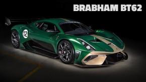 Brabham BT62: o novo carro da lendária equipe tem um V8 de 5,4 litros e 710 cv