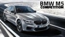 BMW M5 Competition: 625 cv e suspensão preparada de fábrica para encarar o AMG E63 S