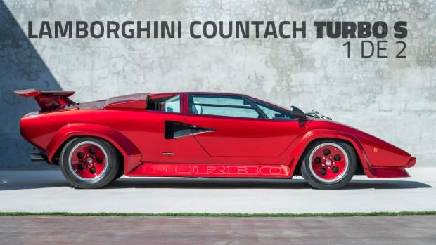 Um dos dois Lamborghini Countach Turbo S que existem no mundo foi encontrado depois de 30 anos