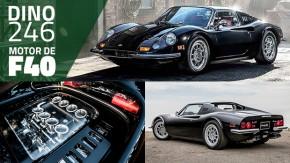Seria esta Dino 246 GTS com motor de Ferrari F40 o restomod perfeito?
