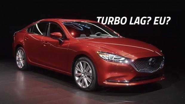 Como a Mazda reduziu o lag do turbo em seu motor Skyactiv