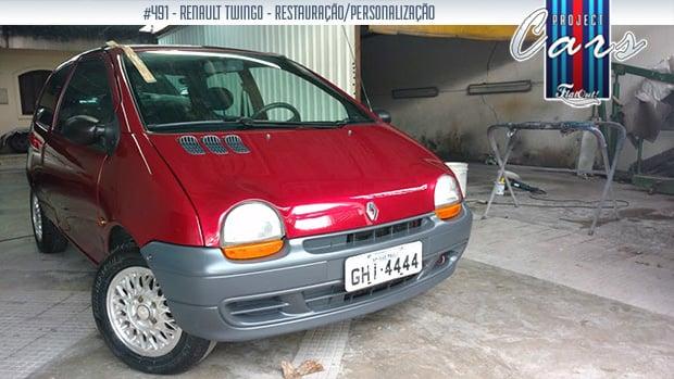 Project Cars #491: a compra e a restauração do meu Renault Twingo