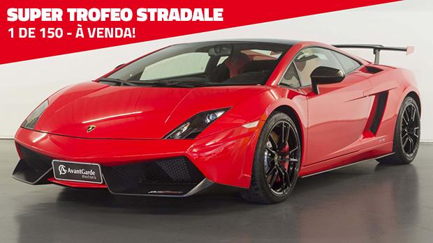 Um dos 150 Lamborghini Gallardo Super Trofeo Stradale que existem no mundo está à venda no Brasil