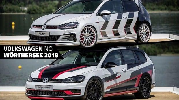 Volkswagen apresenta Golf GTI com 411 cv e Golf Alltrack customizado no Wörthersee 2018