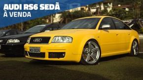 Este raríssimo Audi RS6 sedã Amarelo Imola está à venda no Brasil