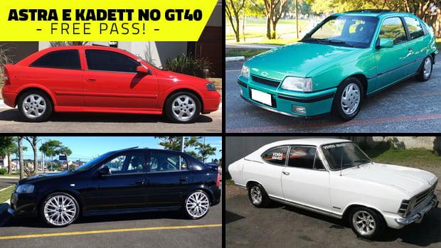 Semana do Kadett e Astra no GT40: todos estes modelos podem ser anunciados na faixa até 3ª que vem