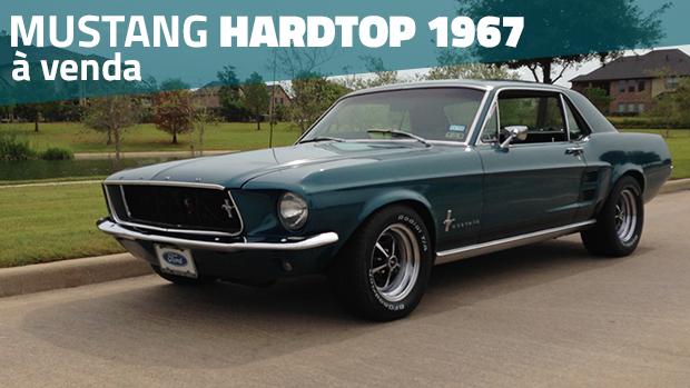 À venda: um Ford Mustang Hardtop 1967 com preparação leve por um preço interessante