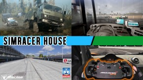 Novo DLC gratuito para Spintires: Mudrunner, novo Bus Sim 2018, prévias do novo circuito no iRacing e realidade mista com o Fanatec McLaren GT3