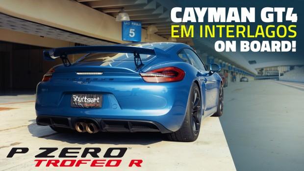 Aceleramos este Porsche Cayman GT4 preparado em Interlagos! Acompanhe o onboard e nossas impressões