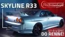 Skyline R33 GT-R V Spec em São Paulo: burnout, zerinhos e puxada no dino! FlatOut Midnight