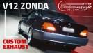 V12 de Zonda, ronco de F1: este Mercedes S600 com escape direto é a forma mais feliz de se perder a audição