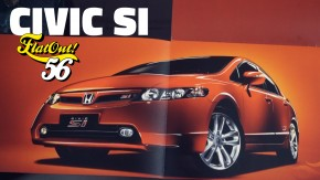 "Civic Si: o carro que atacou o império dos ""esportivos de adesivo"" em 2007   FlatOut 56"