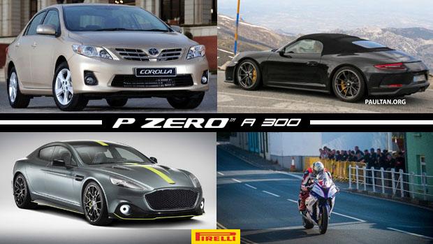Os carros usados mais vendidos em maio, Porsche 911 Speedster em testes, TT da Ilha de Man se torna o circuito de rua mais rápido do planeta e mais!