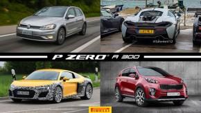 VW lança Golfsomente com motores turbo e sem câmbio manual, McLaren 600LT flagrado em testes, Audi R8 terá versão V6 e mais!