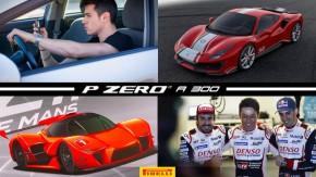 Ferrari 488 Pista ganha versão exclusiva para pilotos, Jovens brasileiros menos interessados em dirigir, WEC mostra prévia dos hipercarros da futura LMP1 e mais!