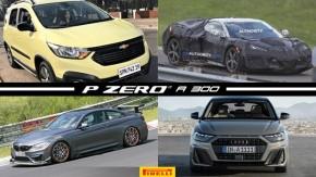 Chevrolet Spinrevelada, Corvette de motor central-traseiro em ação, BMW M4 CSL flagrado e mais!