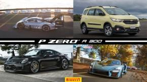 Volkswagen elétrico quebra recorde dePikes Peak, Chevrolet apresenta nova Spin, TechArt faz o 911 Turbo GTS que a Porsche não fez e mais!