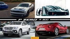 Challenger Hellcat agora tem 808 cv, Lamborghini Terzo Millenio está sendo apresentado a clientes como híbrido V12, Mercedes Classe X pode ganhar V8 e mais!