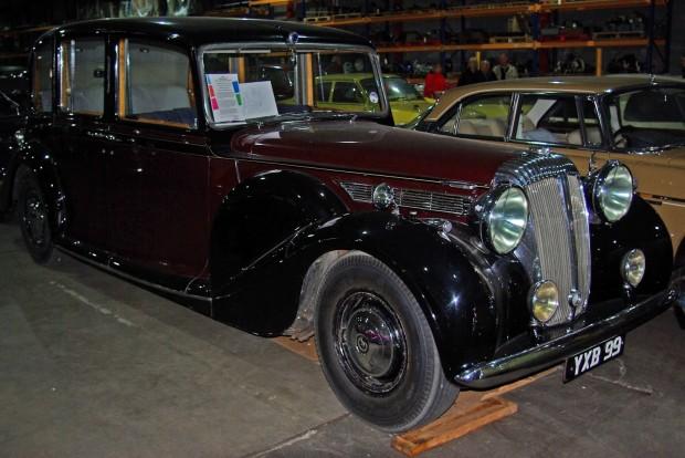 1947 daimler de36 state car