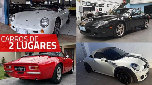 Estes são alguns dos carros para curtir a dois mais legais anunciados no GT40
