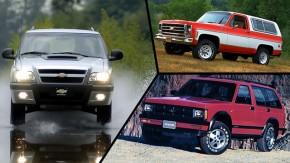 Um nome, oito carros: as diferentes Blazer da Chevrolet