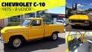 Esta Chevrolet C-10 1975 com 92.000 km e motor seis-cilindros está à venda
