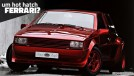 Sbarro Super Eight: um hot hatch com motor V8 Ferrari central-traseiro (e lanternas de Chevrolet Monza)