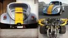 Stealth Beetle: um Fusca com motor V8 Audi biturbo central-traseiro