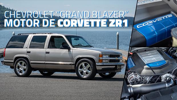 Este Chevrolet Tahoe com o motor de 650 cv do Corvette ZR1 é o SUV sleeper dos nossos sonhos