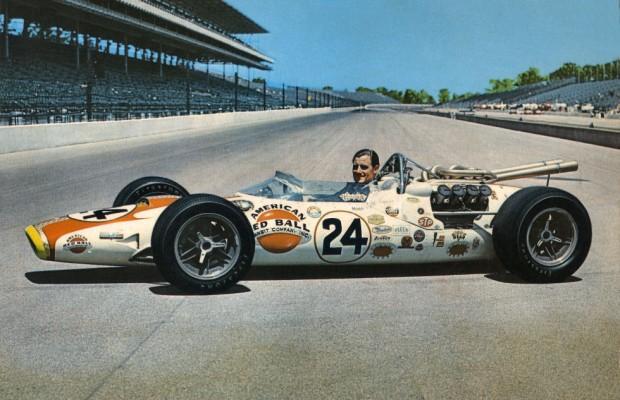 Graham-Hill-Lola-T90-Indianapolis-1966