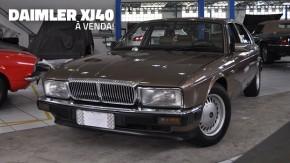 Este Daimler XJ40 todo original é uma legítima barca de luxo britânica à venda no Brasil