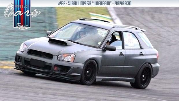 Widewagon: a história do meu Subaru Impreza SW de pista – o Project Cars #492