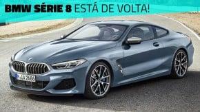 Novo BMW Série 8: a volta do grand tourer de luxo alemão – com um V8 biturbo de 530 cv
