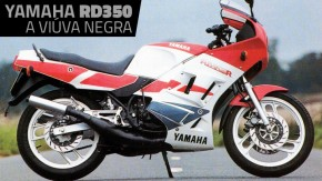"""""""Race Developed"""": a história da mítica Yamaha RD350, a """"Viúva Negra"""""""